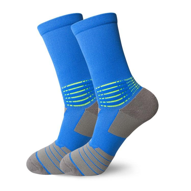 Custom logo super elite basketball running sports socks