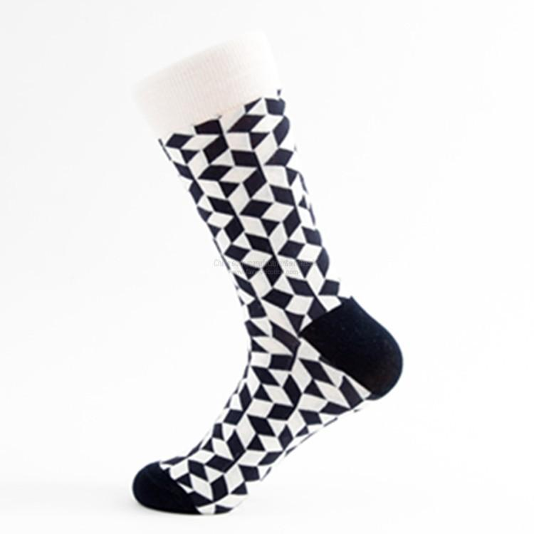 Custom socks wholesale novelty men's moustache socks