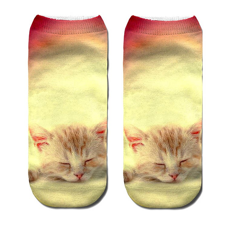 Wholesale australia bulk custom funny printed ankle socks