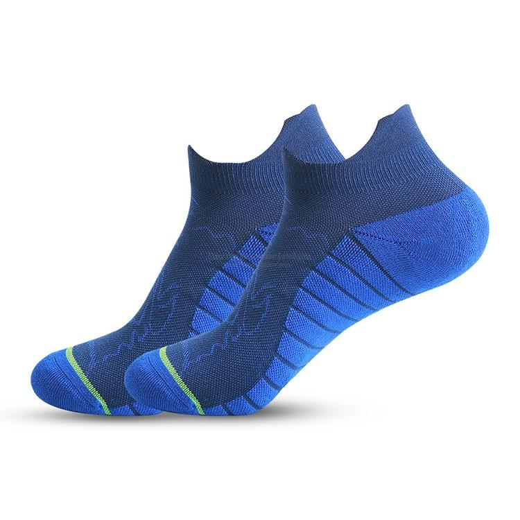 Wholesale custom combed cotton cushioned elite basketball socks