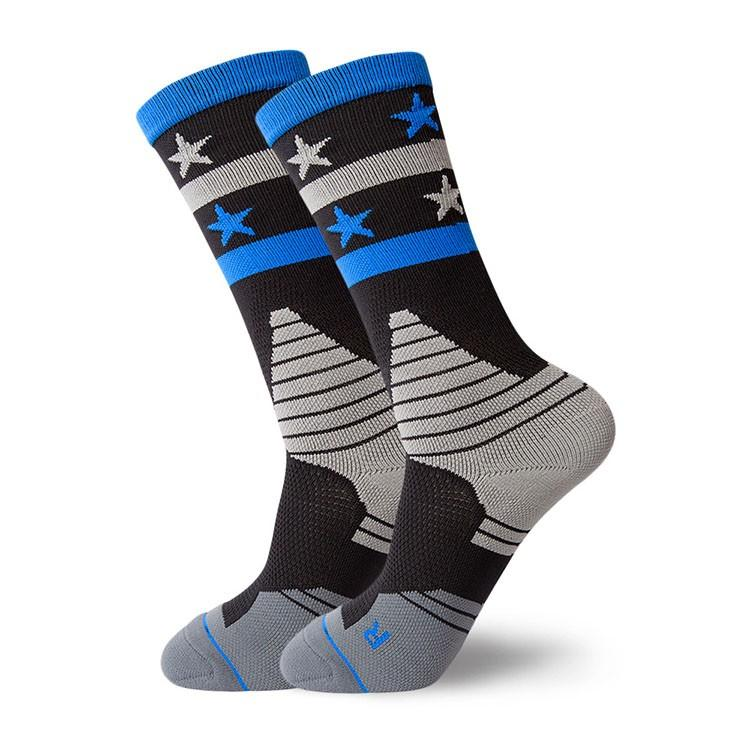 Wholesale elite thick cushioned mens towel basketball socks