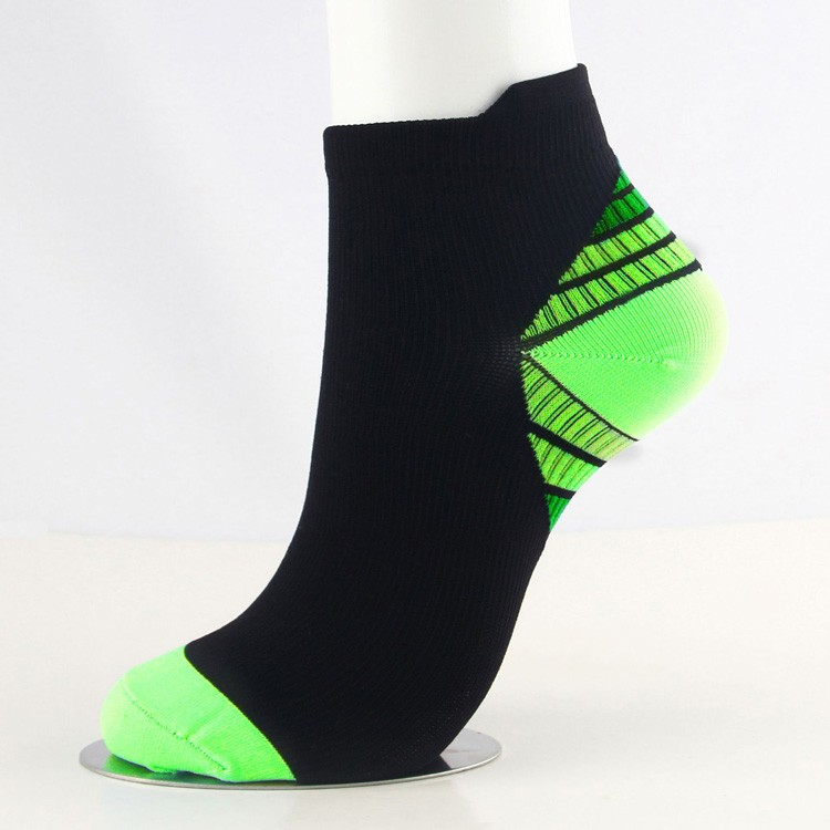 Wholesale heel colored cutieful compression ankle socks